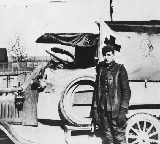 Image result for walt disney ambulance driver