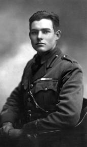 Ernest Hemingway in Milan ,1918