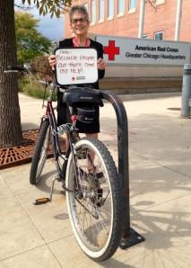 Kathy Schubert biker